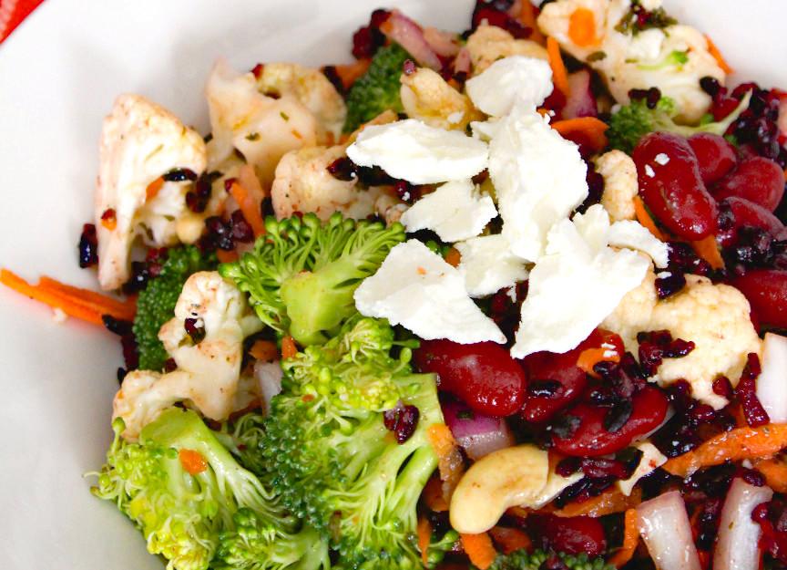 Forbidden Rice and Broccoli Salad