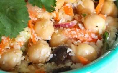 Protein Veggie Salad