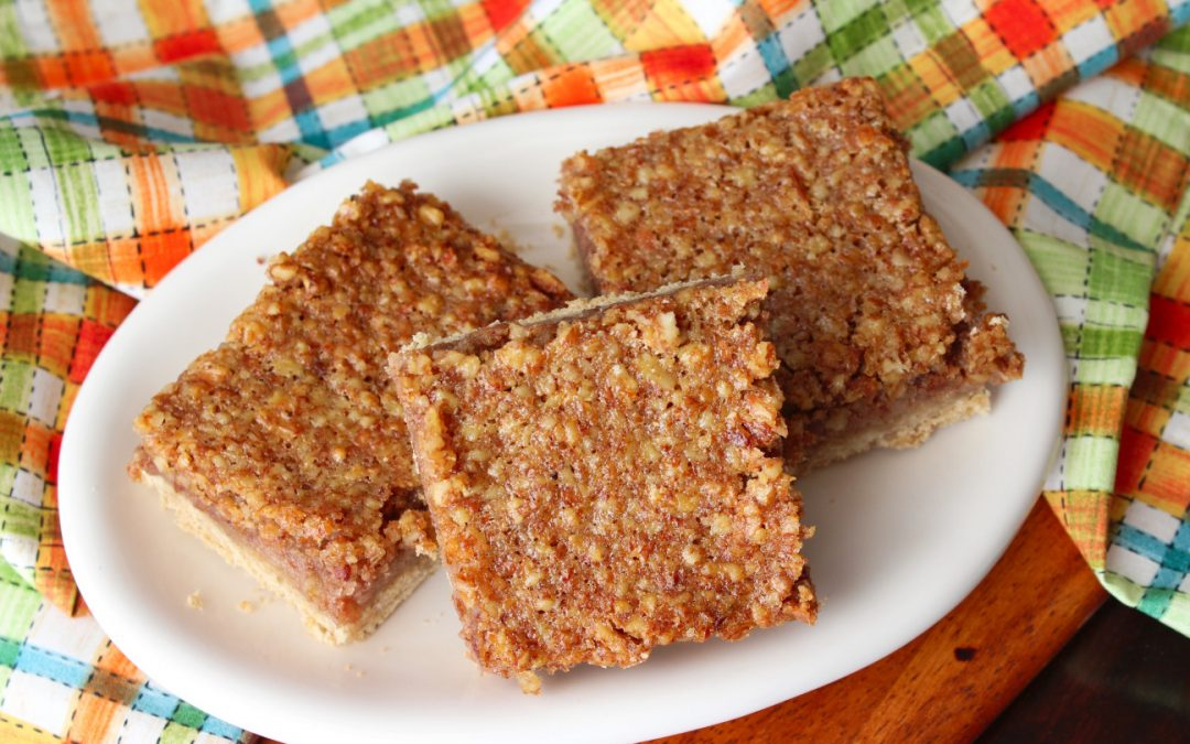 If healthy (and delicious) treats are your thing than you need these Healthy Pecan Pie Squares in your life! They are quick, easy and sure to delight everyone who takes a bite. I am Coach Kathy