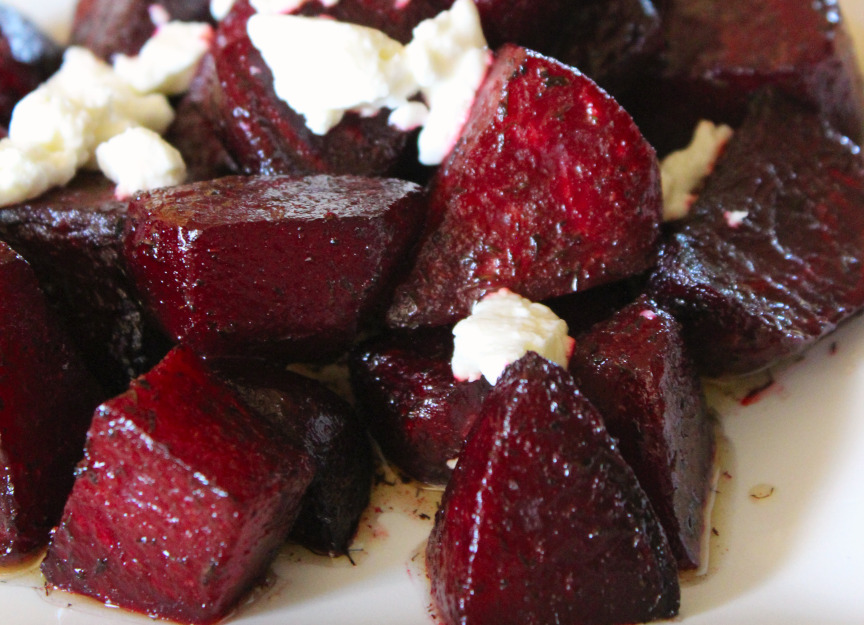Roasted Beets with Goat Cheese | Thanksgiving Side Dishes Done Right
